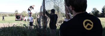 Zaunbauaktionen an der Ungarischen Grenze